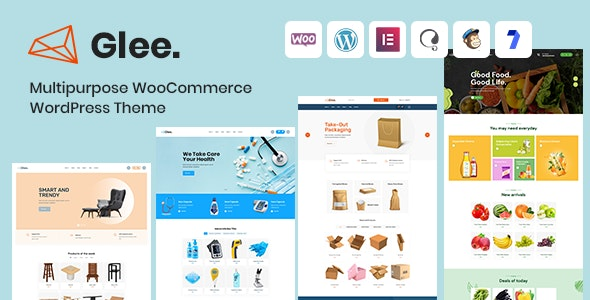 Glee - Multipurpose WooCommerce WordPress Theme + RTL - Shopping Retail