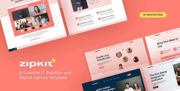 Download Zipkit - A Digital Agencies Template