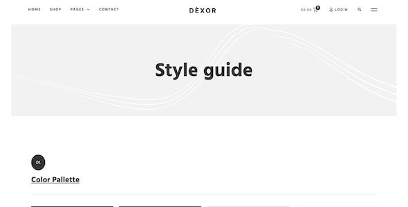 Dexor - Furniture and Decor WooCommerce Template Kit