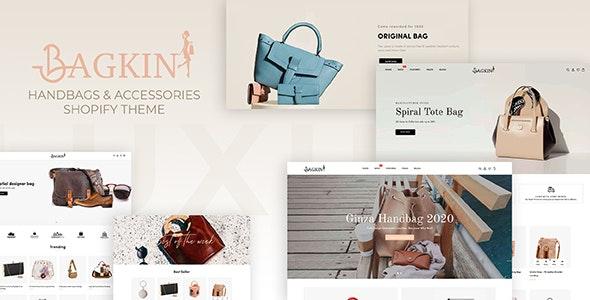 Bagkin- Handbags & Shopping Clothes Responsive Shopify Theme - Shopify eCommerce