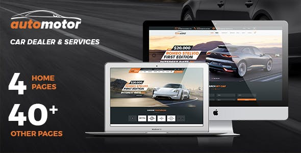 Download AutoMotor | Car Dealer & Services Joomla Template