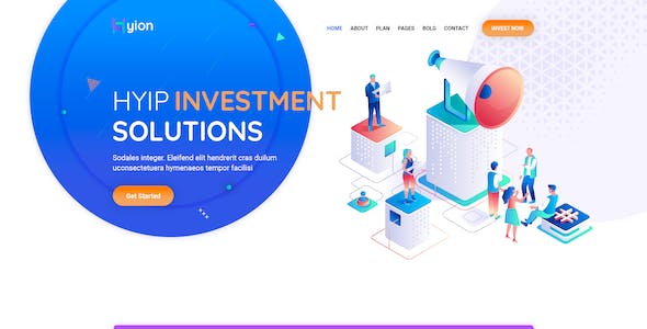 Hyion - HYIP Investment UI Template