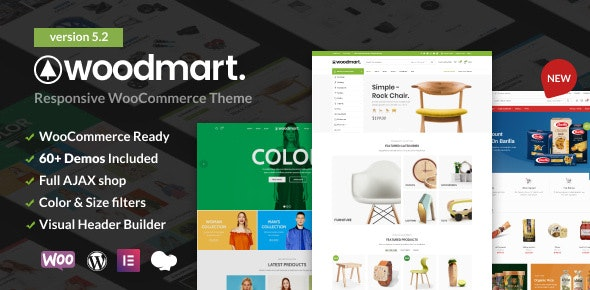 WoodMart - Responsive WooCommerce WordPress Theme - WooCommerce eCommerce