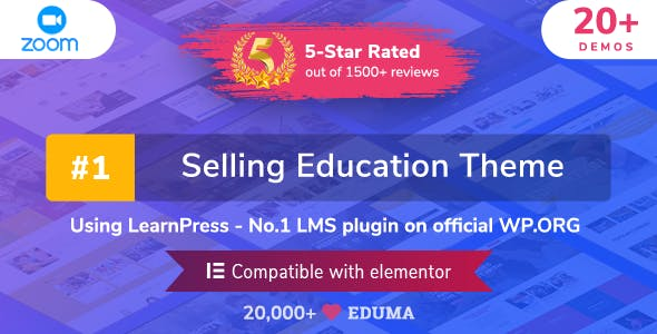 Eduma - Education WordPress Theme
