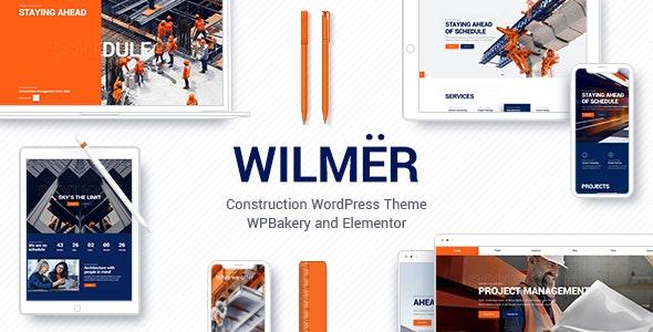 Wilmër - Construction Theme - Business Corporate