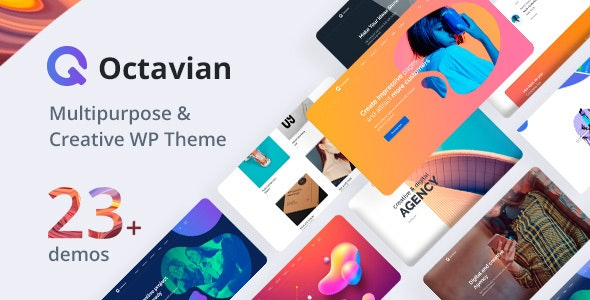 Octavian | Creative Multipurpose WordPress Theme - Creative WordPress