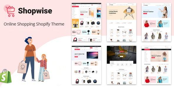 Shopwise - eCommerce Shopify Theme - Shopping Shopify