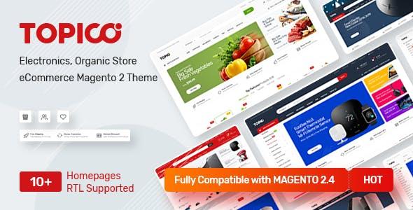 Topico - Responsive Magento 2 Theme