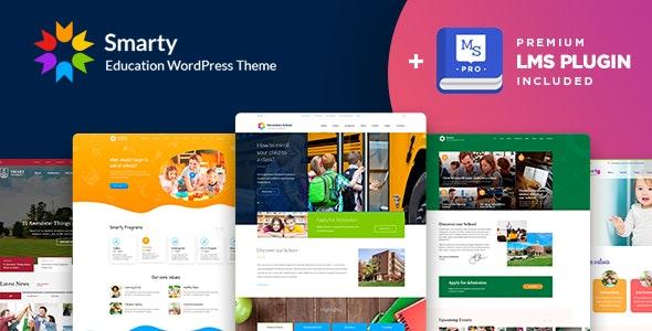 Smarty - School Kindergarten WordPress theme - Education WordPress