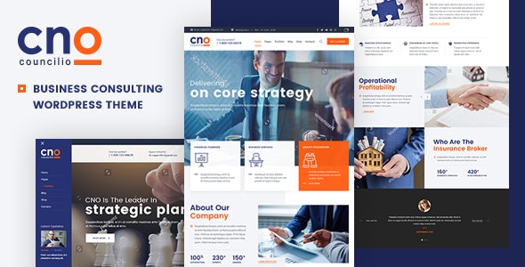Councilio - Business and Financial Consulting WordPress Theme - Business Corporate