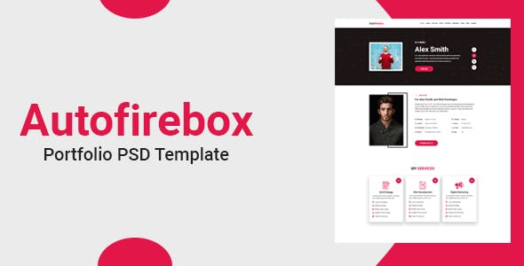 Autofirebox - Portfolio PSD Template