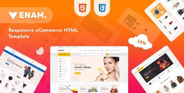 Venam v1.0 – Multipurpose eCommerce HTML Template