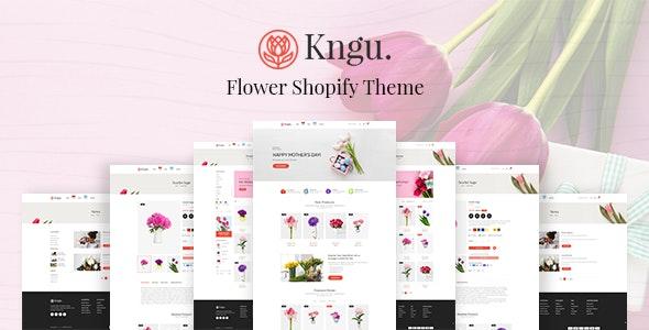Kngu - Flower Shopify Theme - Shopping Shopify