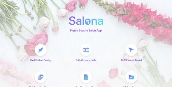 Salona - Figma Beauty Salon App