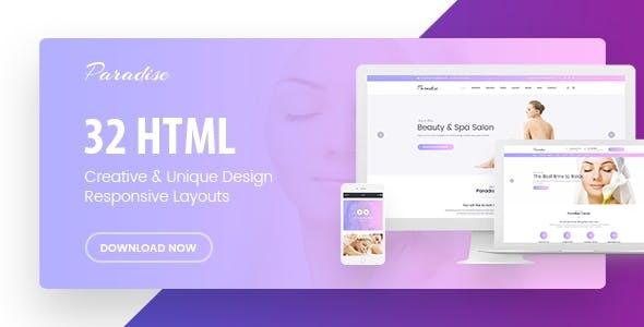 Paradise - Multipurpose HTML Template