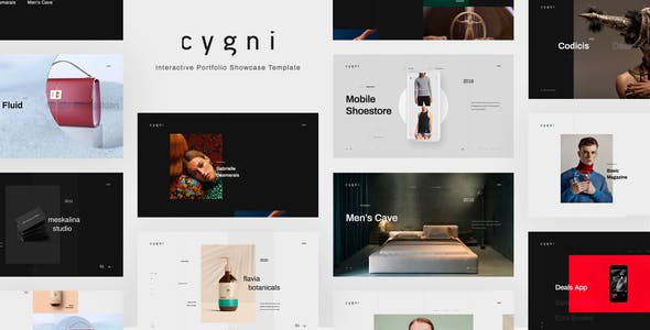 Cygni - Interactive Portfolio Showcase Template