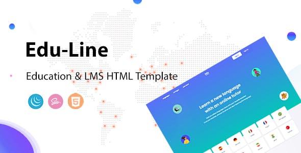 Eduline - Language School & Education HTML Template