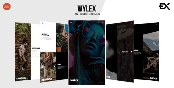 Download Wylex - Photography Portfolio Template