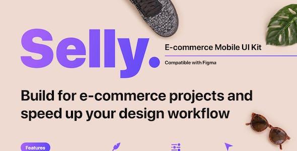 Selly - E-commerce Mobile UI Kit