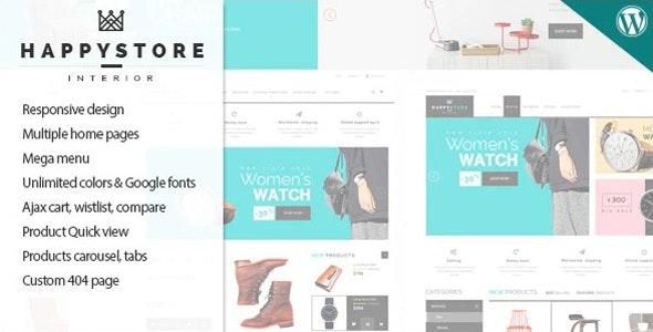 HappyStore - Responsive WordPress WooCommerce Theme - WooCommerce eCommerce