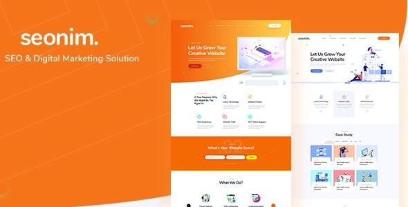 Seonim - Digital Marketing Agency HTML5 Template - Marketing Corporate