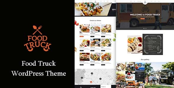 Food Truck - Modern Theme for Food truckers and Street vendors