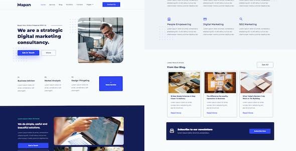Mapan - Digital Marketing Template Kits