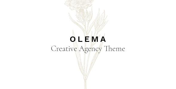 Olema - Creative Agency Theme - Creative WordPress