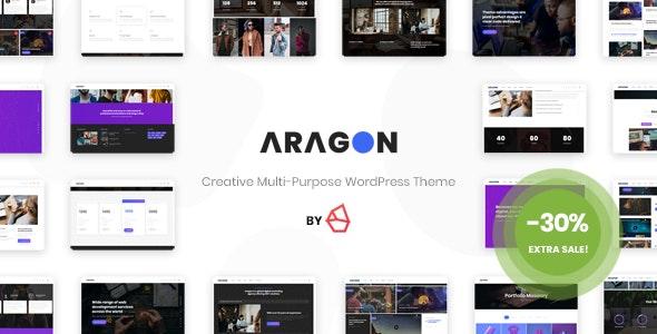 Aragon - Creative Multi-Purpose WordPress Theme - Portfolio Creative