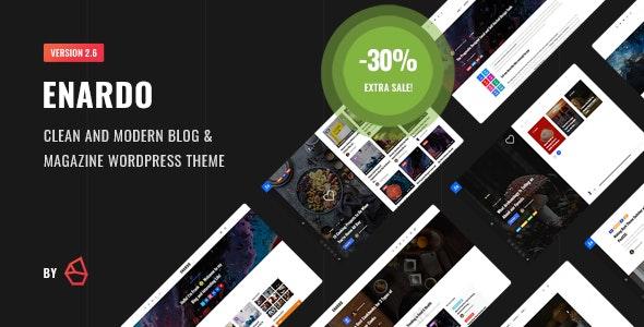 Enardo - Blog & Magazine WordPress Theme - Blog / Magazine WordPress