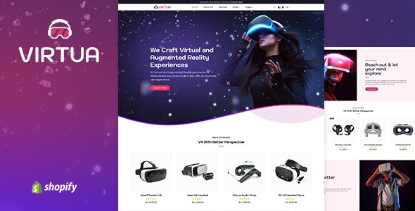 Virtux - One Product Store Shopify Theme - Entertainment Shopify
