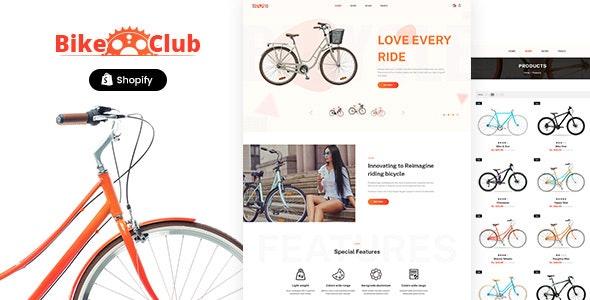 Bikez v1.0 – Bike Shop, Cycle Single Product Shopify Theme