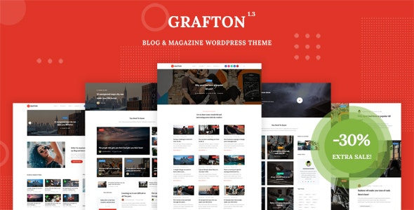 Grafton - Blog & Magazine WordPress Theme - Blog / Magazine WordPress