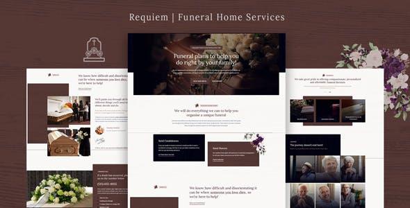 Download Requiem | Funeral Home Services WordPress Theme