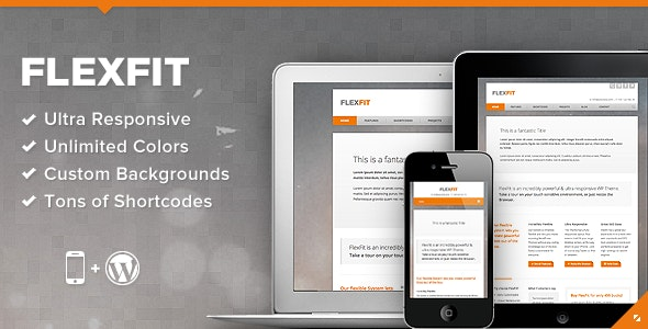 FlexFit - Responsive Business WordPress Theme - Business Corporate