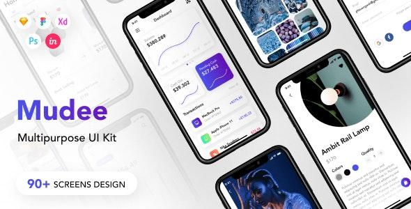 Mudee - Multipurpose UI Kit - UI Templates