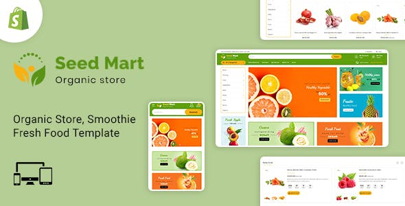 SeedMart - Shopify Food & Grocery Store