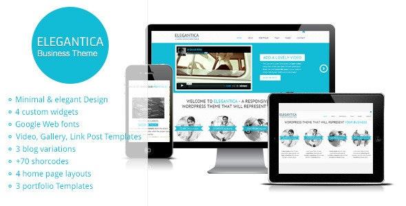 Elegantica - Responsive Business Wordpress Theme - Business Corporate