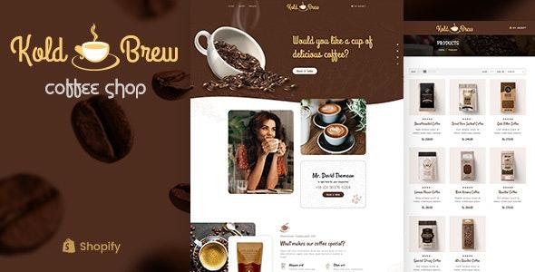 KoldBrew - Coffee Shop Shopify Theme - Entertainment Shopify