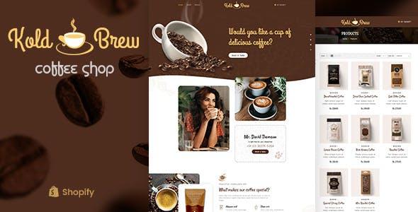 KoldBrew - Coffee Shop Shopify Theme