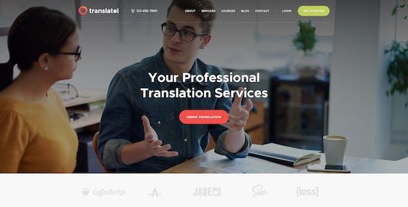 Translang | Translation Services & Language Courses WordPress Theme
