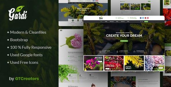 Gardening and Landscaping WordPress Theme - Gardi - Business Corporate