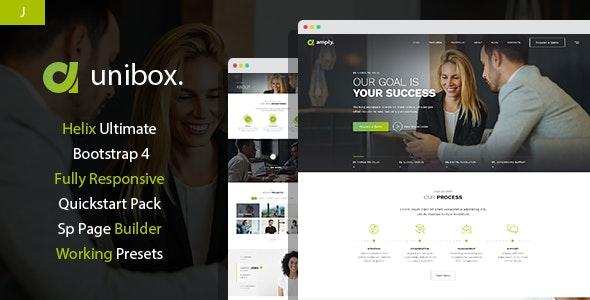 Unibox - Multipurpose Corporate Business Joomla Template - Business Corporate