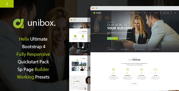 Download Unibox - Multipurpose Corporate Business Joomla Template