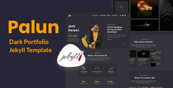 Download Palun - Portfolio Jekyll Theme