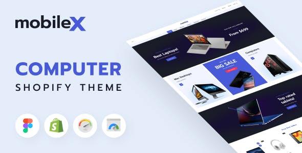 Mobilex - Computer Shop, Mobile Phone Shopify Theme