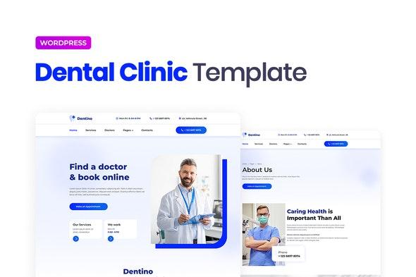 Dentino – Dental Clinic Template Kit - Health & Medical Elementor