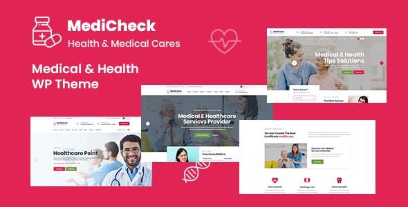 Medicheck – Medical and Health WordPress Theme