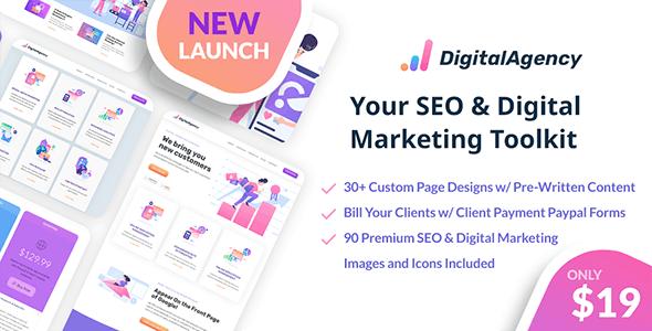 SEOWP | SEO & Digital Marketing HTML5 Template