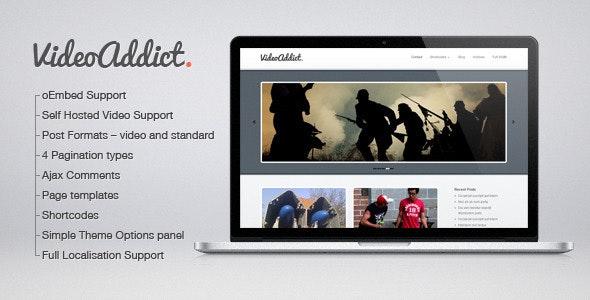 VideoAddict - Wordpress Video Theme - Creative WordPress